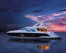 大连阿尔滨老板的奢华游艇和豪车